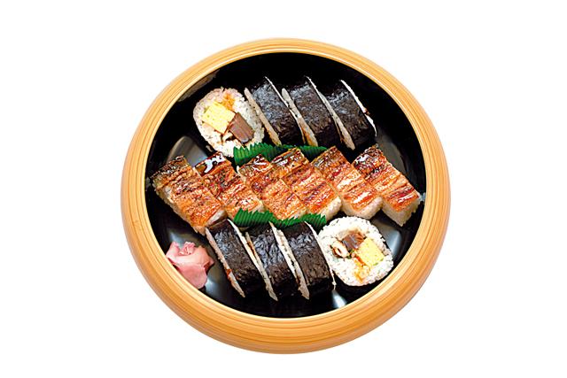 上巻寿司+穴子箱寿司